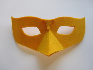 simple laser cut mask