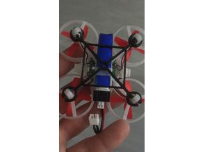 Stiffener for Tiny whoop style chasis 65mm. and 6mm Motors