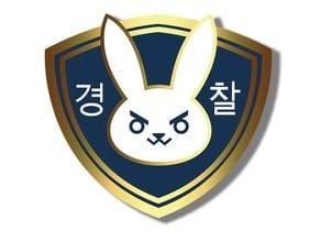 Officer D.Va Badge