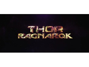 Letter A inspiration Thor Ragnarok