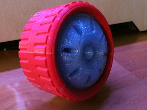 YATW: Yet-another-toy-wheel (OpenSCAD)