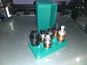 Vape Tank Storage Box (8 x 25mm Tanks)