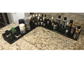 expanded set of paint stands