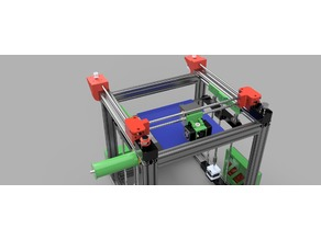 ReP_AL Core XY 3D Printer Axis Upgrade