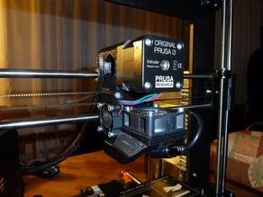 Prusa I3 MK2(s) alternative nozzle fan & cooling design