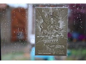 guardians of the galaxy lithophane