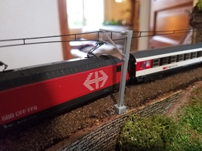 N Scale Catenary