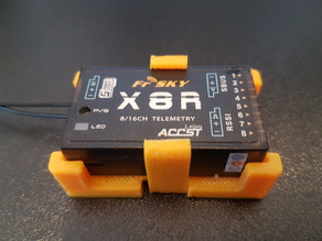 FrSky RX8 clip mount bracket