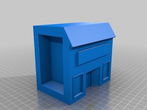 3D customiable shop froont