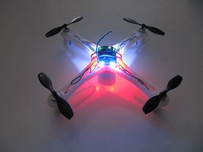 Mini Quadrocopter from Leftover Parts