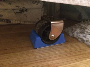 Bed Frame Wheel Chocks