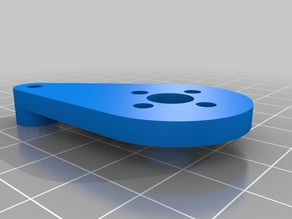 Adjustable Z stop for alu bed