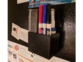 Magnetic Expo Dry Erase Set Organizer, Fine Point Markers