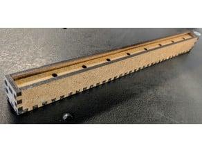 Straw Case Box with Sliding Door - Laser cutter