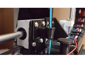 Improved Anet A8 Filament Guide