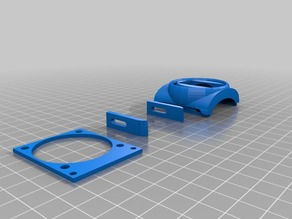 Fan duct .tiny V6 Vulcano extension
