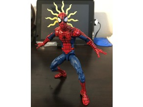 Spider-sense Effect for Action Figures
