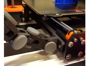 Articulating Raspberry PI Camera Mount for 3030 aluminium extrusions on Prusa MK3