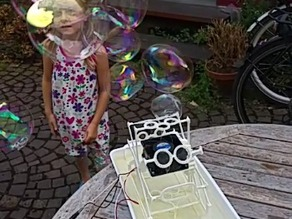 Vertical Bubble Machine
