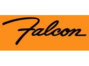 Ford Falcon badge and commemorative plate
