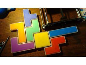 TETRISUSHI - Sushi plates Tetris shaped