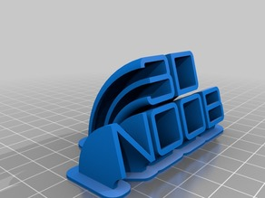 Nameplate for 3DNoob