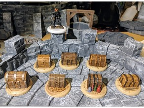 Fantasy Wargame Terrain - Treasure Tokens