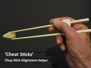 'Cheat Sticks' - The easy way to keep your Chop Sticks under control!