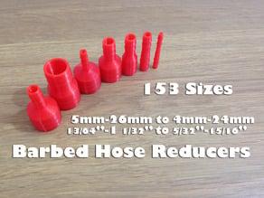 Barbed Hose Reducer / Hose Adaptor