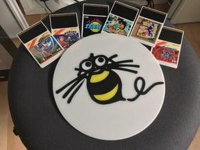 Logo Hudson Soft BEE