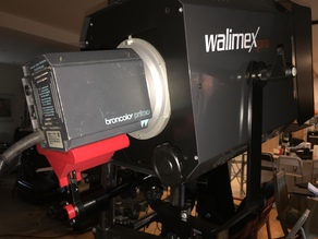 Support Broncolor Primo on Spot Walimex