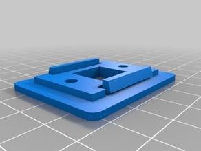 USB-B mount for 40W CO2 laser cutter (K40)