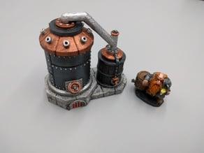 Boil Kettle & Tun System - Dwarven AleWorks - 28mm