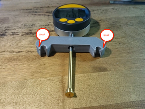 Snap-on Dial Indicator Holder for duplicator