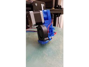 Prusa i3 MK2 Extruder/Hotend Assembly with mk10 Drive for Tronxy