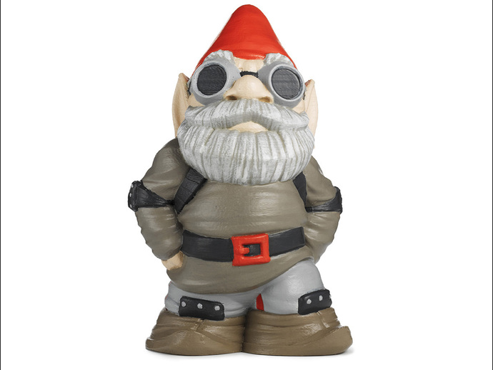 Gnome 4: MakerBot Gnome By MakerBot