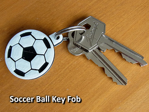 Soccer Ball / Football Key Fob