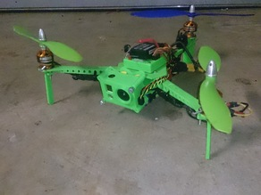305 size Printed FPV Tricopter