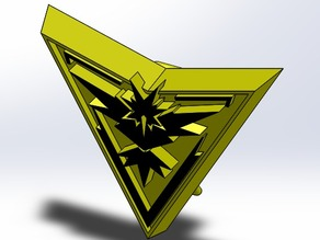 Pokemon Go - Team Instinct Badge