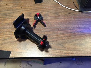 Spool Holders for current gen (March 2015 ...) Flash Forge Creator Pro