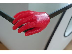 table corner protective hands