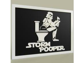 StarWars Storm Pooper - StormTrooper Toilet
