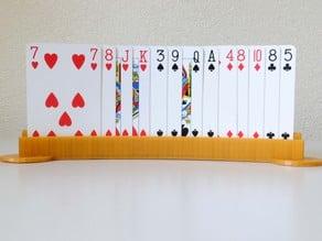 Expanded bridge card holder