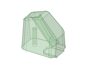 landing legs holder/mount for QR400