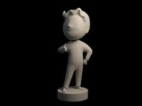 Fallout 4 Bobblehead (Vault Boy Charisma)