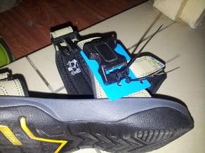 Buckle Mounting Frame for Velcro Sandal