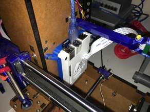 Raspberry Pi 2-B+ Case w/RAMBo mount arms