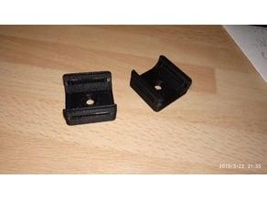 Cable clip Klettband befestigung