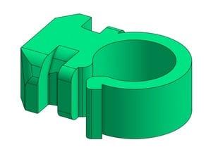Twist-in 20x20 Extrusion Wire Holder