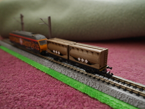 N scale 20 foot tanktainer